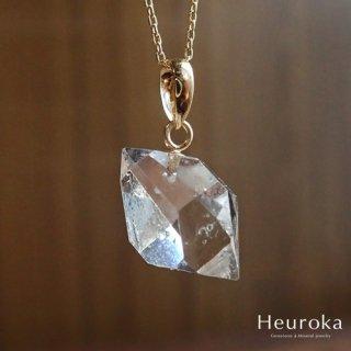 【 Heuroka 】4月の誕生石/ハーキマーダイヤモンドのネックレス