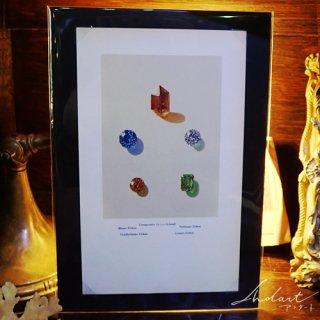 【 Andart 】 宝石の図版 /ジルコン