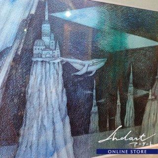 【 HASHIMOTO HIROMI 】原画 / オーロラのカーテン