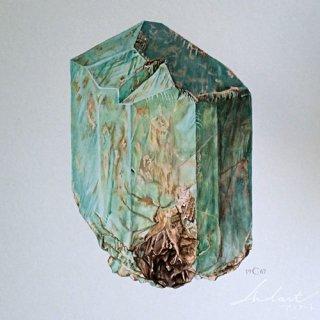 【 Andart 】 鉱物の図版-FELDSPATH POTASSIQUE-アマゾナイト