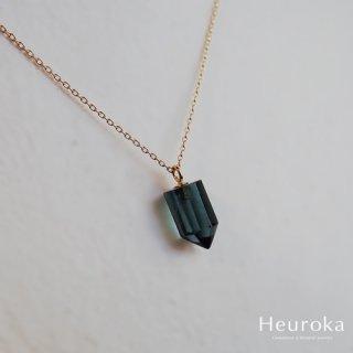 【 Heuroka 】トルマリンのネックレス K18YG