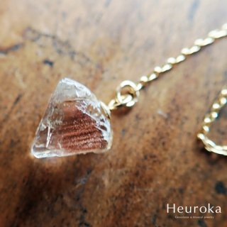 【 Heuroka 】オレゴン・サンストーンのピアス