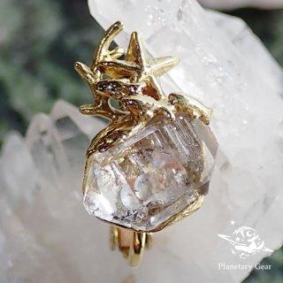 【 Planetary Gear 】『 星のカケラ 』/ ハーキマーダイヤモンド / Earring
