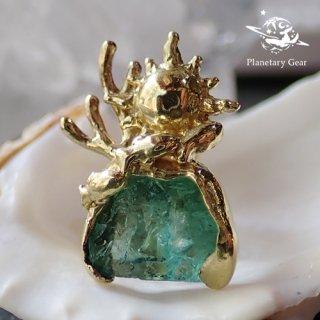 【 Planetary Gear 】『 星のカケラ 』/ ロジャリー・フローライト / Earring