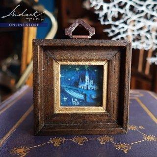 【 HASHIMOTO HIROMI 】原画 / 青い時を進む