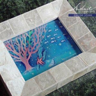 【 HASHIMOTO HIROMI 】原画 / あたたかい海の底で