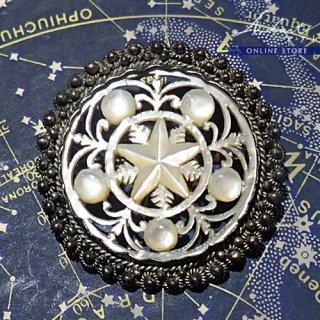 【 Andart 】 マザーオブパール / ベツレヘムの星 / Brooch ( S )