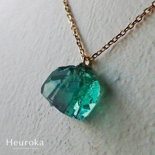 【 Heuroka 】ロジャリー フローライト / Necklace / K18YG