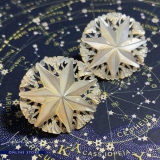 【 Andart 】 マザーオブパール / ベツレヘムの星 / Earring