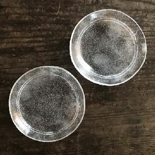 オオタ硝子研究室 ライン入り豆皿
