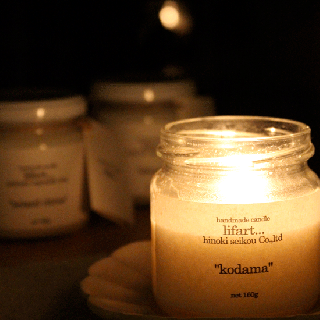 handmade candle lifart… フレグランスキャンドル