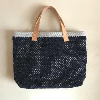 stoffa   裂き織りバッグ933