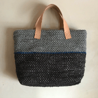 stoffa   裂き織りバッグ929