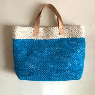 stoffa   裂き織りバッグ889