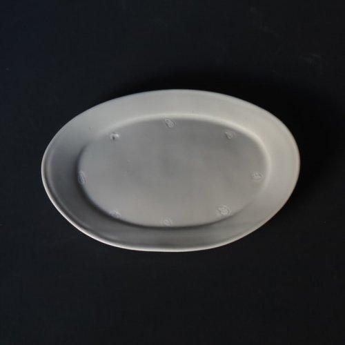 中本純也 オーバル皿