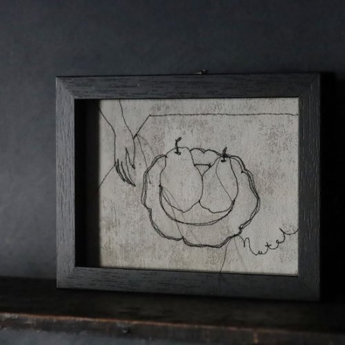 Nutel 絵画「洋梨」