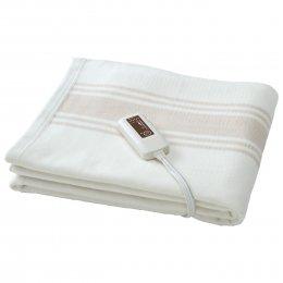電気掛け敷きオーガニックコットン毛布