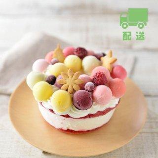 【ジェラートケーキ】フルーツブーケ<br> ■ 配送(送料込) ■