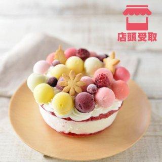 【ジェラートケーキ】フルーツブーケ<br> ■ 店頭受取 ■