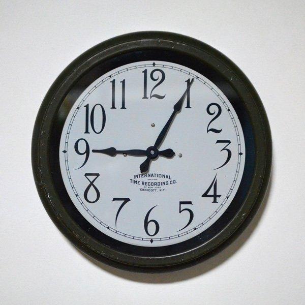 1930's 『IBM 』 SCHOOL CLOCK