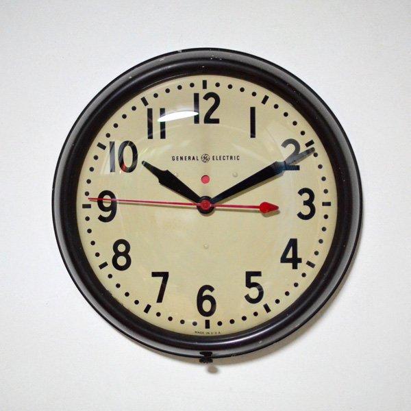 1940'S 『GENERAL ELECTEIC』 SCHOOL CLOCK