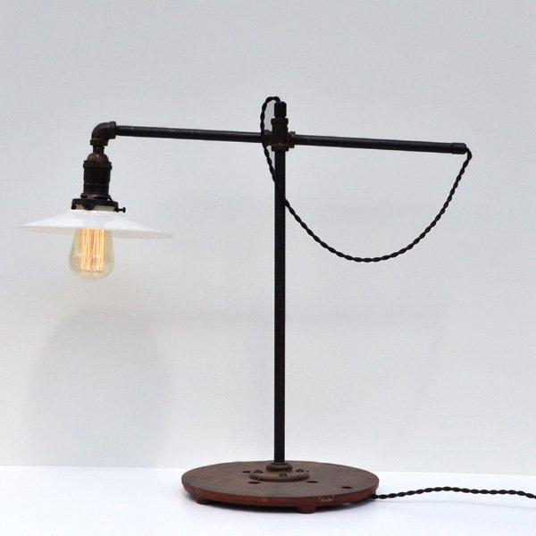 1930's 『WORD』ADJUSTABLE ARM DESK LAMP