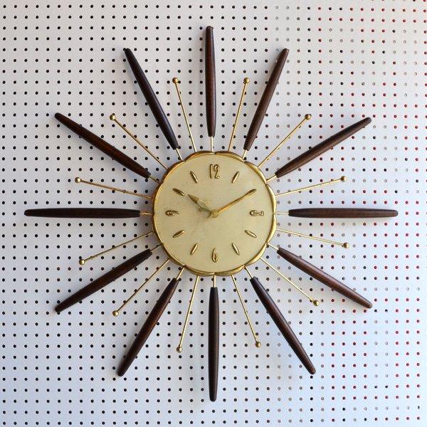 1960's 『LUX』 SUNBURST CLOCK