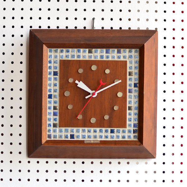 1960's 『GENERAL ELECTEIC』 WALL CLOCK