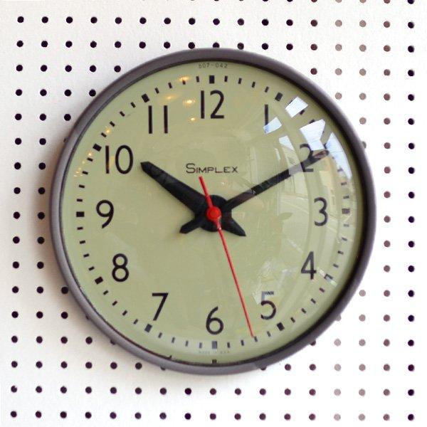 1960's 『SIMPLEX』SCHOOL CLOCK