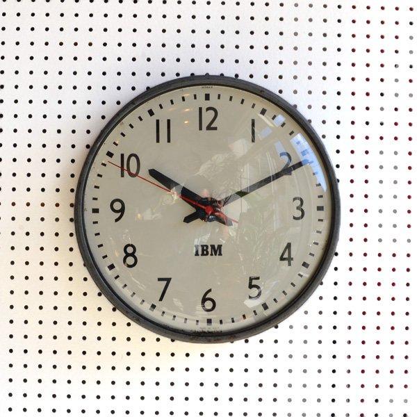 1950's 『IBM』 SCHOOL CLOCK