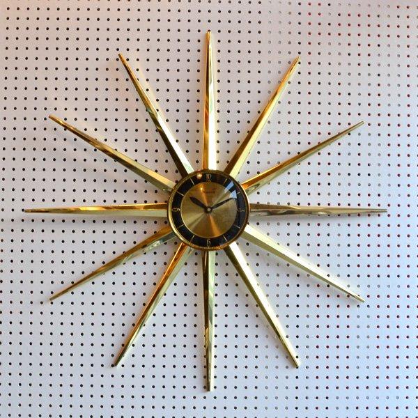 1960's 『FORESTVILLE』 SUNBURST CLOCK