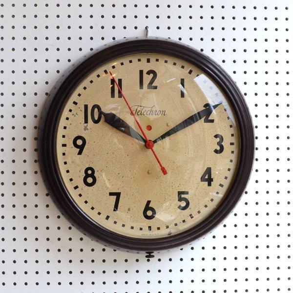 1950's 『TELECHRON』 SCHOOL CLOCK