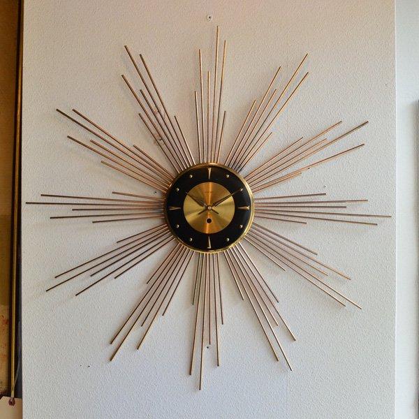 1950's 『WELBY』 SUNBURST CLOCK