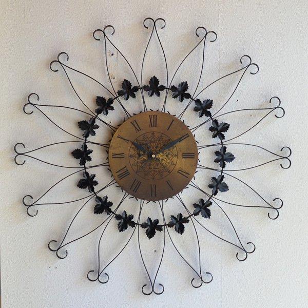 1950's 『SETH TORMAS』 SUNBURST CLOCK