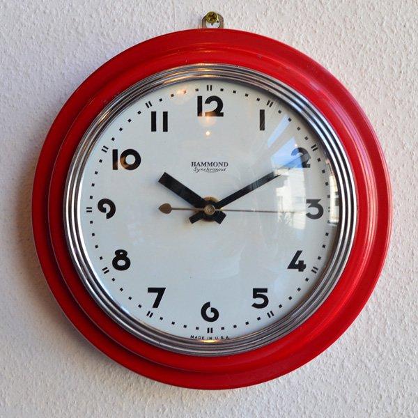 1930's 『HAMMOND SYNCHRONOUS』KITCHIN CLOCK