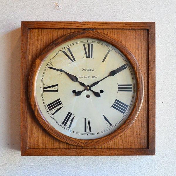 1930's 『STANDARD』 SCHOOL CLOCK