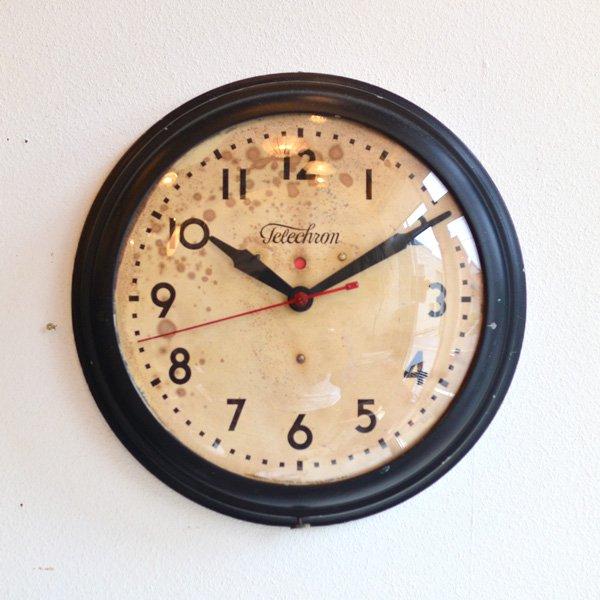 1940's 『TELECHRON』 SCHOOL CLOCK