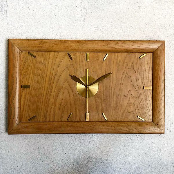 1950's 『UNKNOWN』 WALL CLOCK