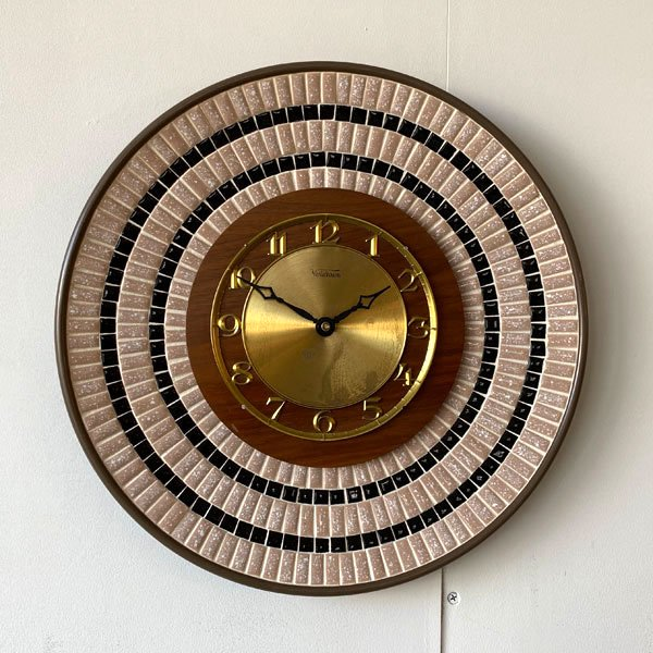 1960's 『VERICHRON』 TILE WALL CLOCK