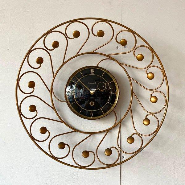 1950's 『FORESTVILLE』 SUNBURST CLOCK