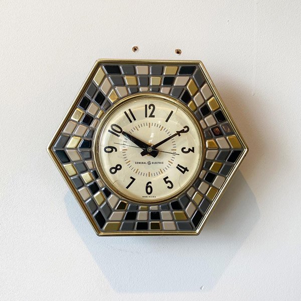 1960's 『GENERAL ELECTEIC』KITCHIN CLOCK (BLACK)