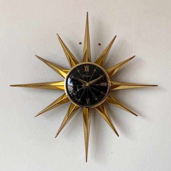 1950's 『SESSIONS』 SUNBURST CLOCK