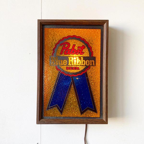1970'S『PABST』LIGHT SIGN