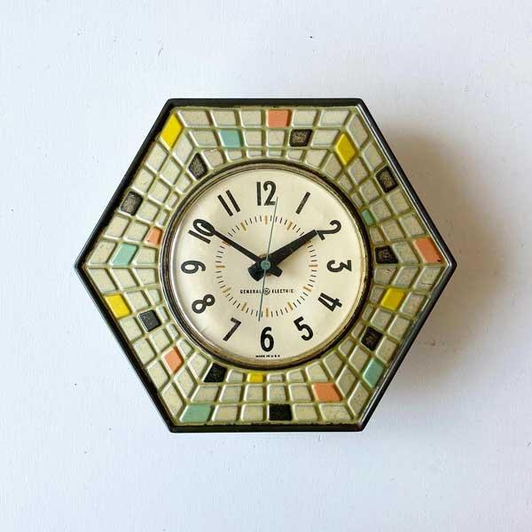1960's 『GENERAL ELECTEIC』KITCHIN CLOCK (WHITE)