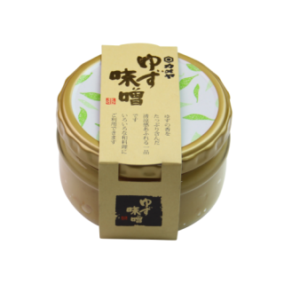 【終売】ゆず味噌 180gギフト瓶