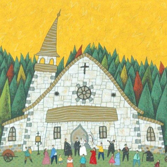 村の小さな教会【レンタル使用品】