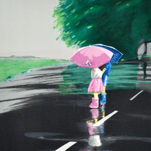 雨の日の会話【レンタル使用品】