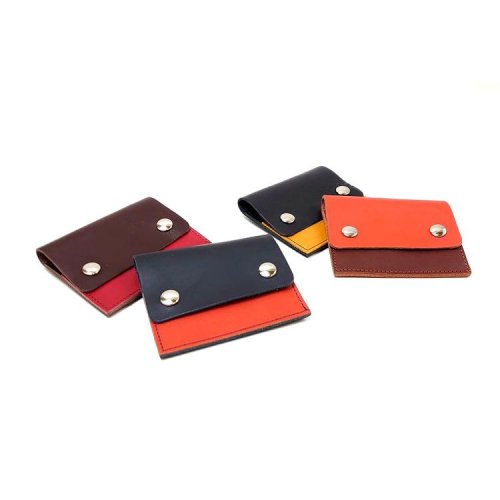 【ビー・ピスク/モニカ】カルクル定番のコンパクト札入れ<br>コンパクト財布