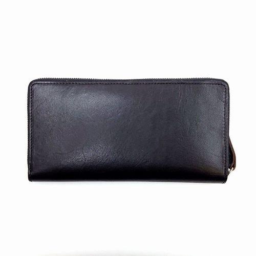 【アウトレット/スリムウォレット】ラウンドファスナー長財布 ※在庫限り限定特価