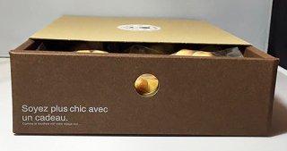 【寄付つき】猫になれるお菓子・肉球フィニャンシェたっぷり27個引き出しBOX入り